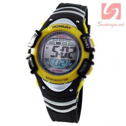 Đồng hồ điện tử đeo tay thể thao Popart 385 - Vàng