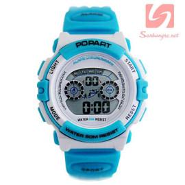 Đồng hồ điện tử đeo tay thể thao Popart 310 - Xanh dương