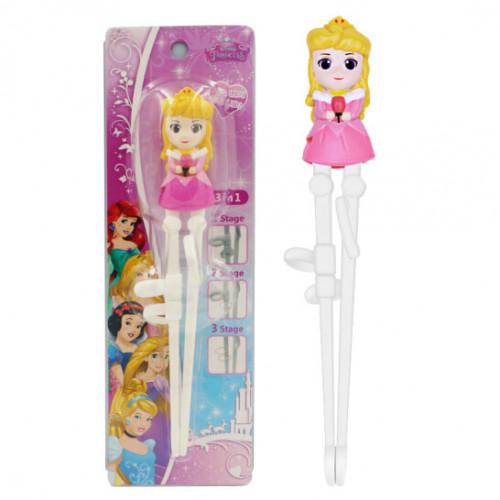 Đũa tập ăn cho bé 3D Disney Frozen - Aurora