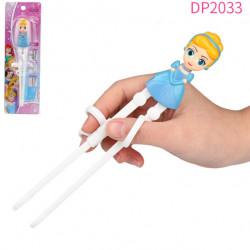 Đũa tập ăn cho bé 3D Disney Frozen - Cinderella