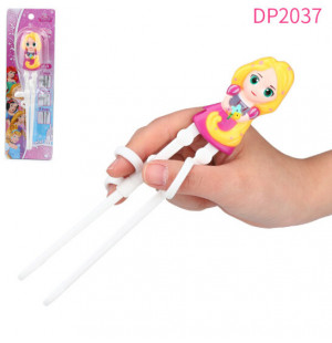 Đũa tập ăn cho bé 3D Disney Frozen - Rapunzel