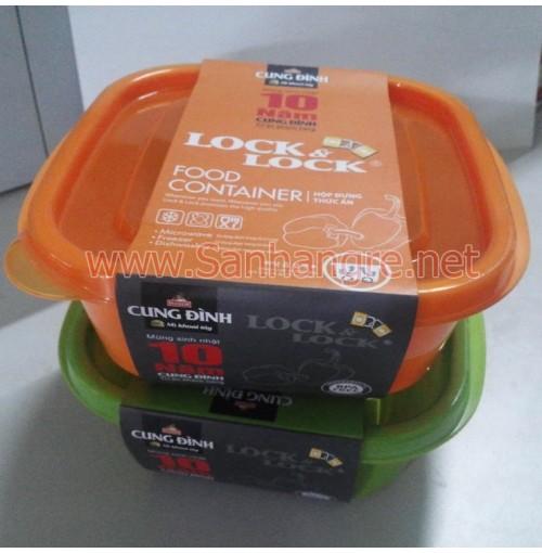 Hộp đựng thực phẩm Ez-Lock 610ml của Lock & Lock