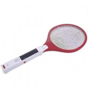 Vợt muỗi điện sạc năng lượng mặt trời Fujika FJ-VM015 (Đỏ)