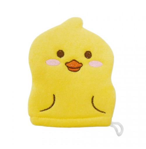 Găng tay tắm cho bé hình vịt Kokubo KB-003 hàng Nhật