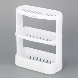 Giá để đồ dùng nhà tắm 3 tầng màu trắng Innomata