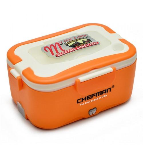 Hộp cơm hâm nóng Chefman Inox CM-112I (Cam)