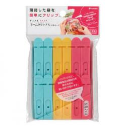 Bộ 12 dụng cụ kẹp miệng túi Niheshi 7012 hàng Nhật