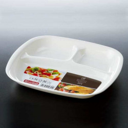 Khay ăn chia 3 ngăn cho bé tập ăn Kokubo K482-1 hàng Nhật