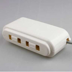Hộp đựng và che ổ cắm điện an toàn cho bé KM-1277 hàng Nhật