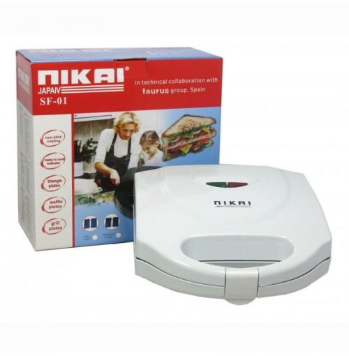 Máy nướng bánh mini Nikai FS-03 (Trắng)