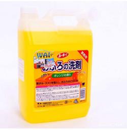 Nước tẩy rửa nhà tắm lau sàn Wai 4L xuất Nhật