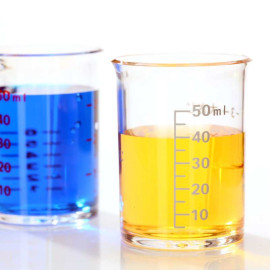 Bộ 2 cốc chia vạch 50ml KM-1297 hàng Nhật