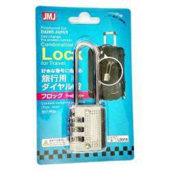 Khóa Vali 3 số Daiso Japan LD018 hàng Nhật