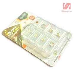 Hộp đựng thuốc 8 ô Pill Case DM1083 - Trắng