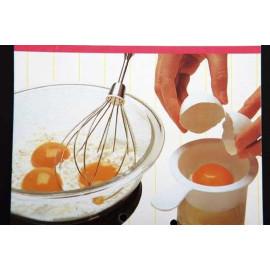 Dụng cụ tách lòng đỏ trứng KM-322 hàng Nhật