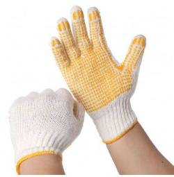 Găng tay len phủ hạt nhựa lòng bàn tay KM-224 hàng Nhật