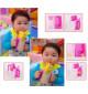 Giá để hộp sữa cầm tay cho bé Baby 3162 hàng Nhật - Xanh lá