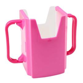 Giá để hộp sữa cầm tay cho bé Baby 3162 hàng Nhật - Hồng