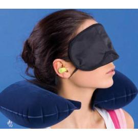 Bộ 3 thứ gối hơi đỡ cổ, bịt mắt, bịt tai JKH803A