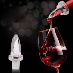 Bộ dụng cụ rót và nắp đậy chai rượu vang KM-1067 hàng Nhật