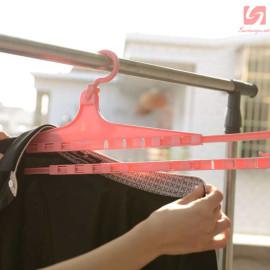 Móc treo quần áo thông minh KM 1165 hàng Nhật - Xanh
