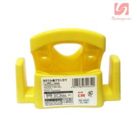 Giá cắm bàn chải và kem đánh răng KM 2032 hàng Nhật - Vàng