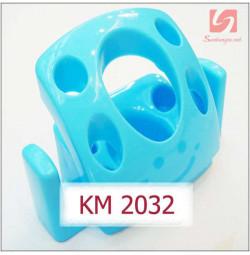 Giá cắm bàn chải và kem đánh răng KM 2032 hàng Nhật - Xanh