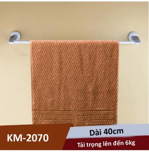 Thanh treo khăn hít tường 40cm 6kg KM-2070 hàng Nhật