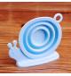 Lọc trà Silicon hình ốc sên KM-1351 hàng Nhật (Hồng)