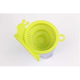 Lọc trà Silicon hình ốc sên KM-1351 hàng Nhật (Xanh biển)