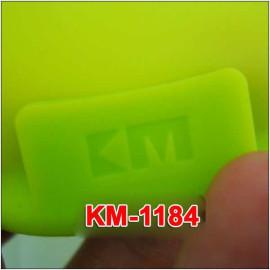 Miếng lót nồi cách nhiệt Silicon đa năng KM-1184 hàng Nhật - Xanh lá