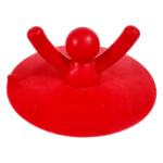 Nắp đậy lỗ thoát nước chậu rửa Silicon Niheshi 6059 hàng Nhật - Đỏ