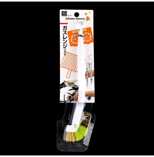 Dụng cụ chổi búi thép vệ sinh bếp gas Niheshi 6011 hàng Nhật