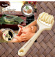 Dụng cụ lăn mát xa mặt cầm tay Niheshi 6115 hàng Nhật (Kem)