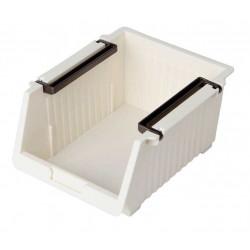Giá mini để đồ tiện lợi 13.3x10x9cm Niheshi 6174 hàng Nhật (Trắng sữa)