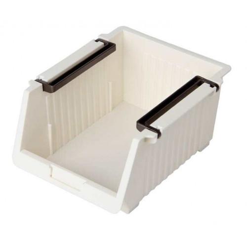 Giá mini để đồ tiện lợi 11.8x14.5x7.3cm Niheshi 6172 hàng Nhật (Trắng sữa)