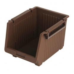 Giá mini để đồ tiện lợi 10.5x13.5x9.5cm Niheshi 6173 hàng Nhật (Nâu)
