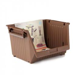 Giá mini để đồ tiện lợi 13.3x10x9cm Niheshi 6174 hàng Nhật (Nâu)