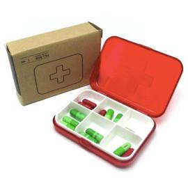 Hộp đựng thuốc 6 ô Pill Box TM07026B hàng Nhật