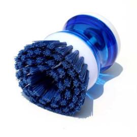 Dụng cụ cọ rửa xoong nồi có bầu chứa xà bông SA7735 hàng xuất Nhật - Xanh biển