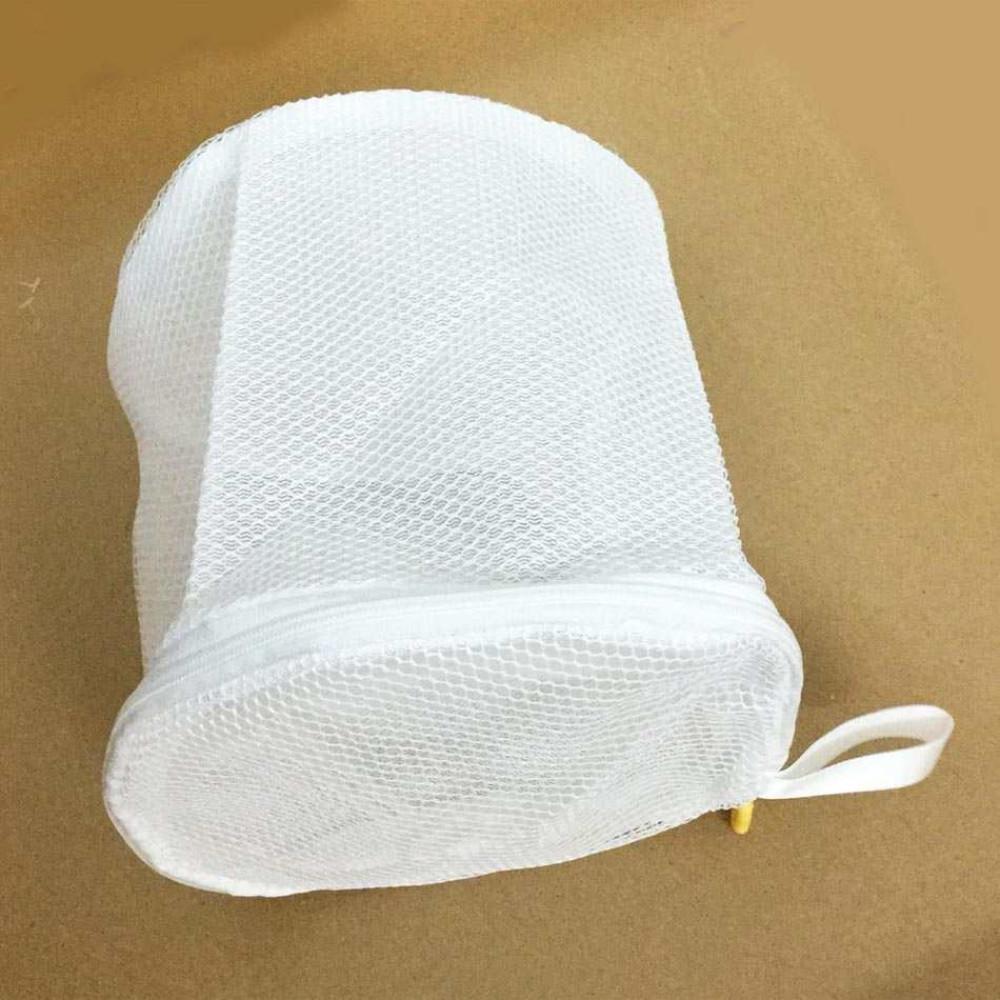 Túi lưới 2 lớp giặt đồ lót W8023 hàng Nhật (Trắng)