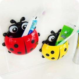 Bộ 3 hộp để bàn chải, kem đánh răng dính tường hình chú cánh cam ngộ nghĩnh