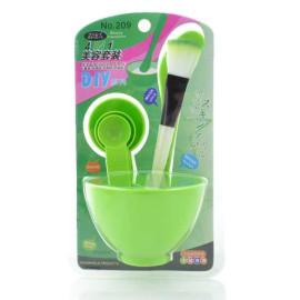 Bộ dụng cụ trộn mặt nạ đắp mặt Beauty Mask 4 in 1 (Xanh lá)