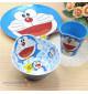 Bộ đồ dùng ăn hình Doraemon cho bé hàng xuất Nhật 02