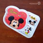 Khay ăn chia 3 ngăn hoạt hình Micky Mouse hàng xuất Nhật