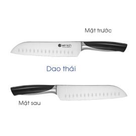 Bộ dao Inox 6 món Elmich EL-3801 (4 dao, 1 kéo cắt gà, 1 giá để dao)