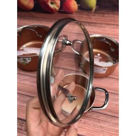 Nồi phủ sứ chống dính Elmich Royal Classic 20cm vung kính dùng bếp từ