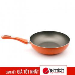 Chảo chống dính đáy từ Elmich EL-43126 26cm - Cam