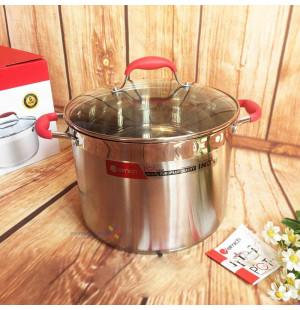 Nồi luộc gà inox Elmich EL-3140 28cm 12L dùng bếp từ