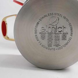 Nồi Inox 304 Red Velvet Elmich 20cm 3.5L 2355268